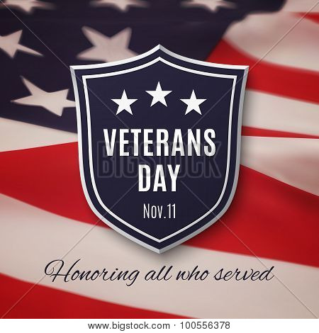 Veterans day background.
