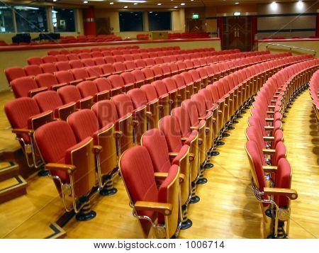 auditorium: birmingham symphony hall west midlands uk stock photo