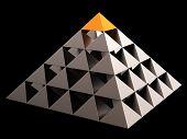 Financial pyramid theoretical (Hi-Res)