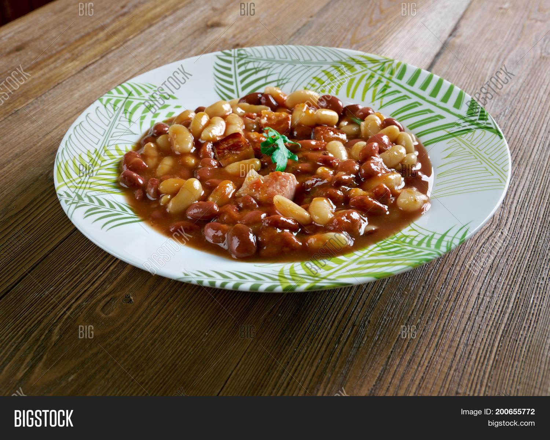 Umngqusho Bantu dish.South African cuisine different beans