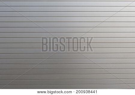 A metal roller shutter texture as a background stock photo
