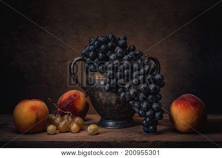 Still Life- Natural Grapes
