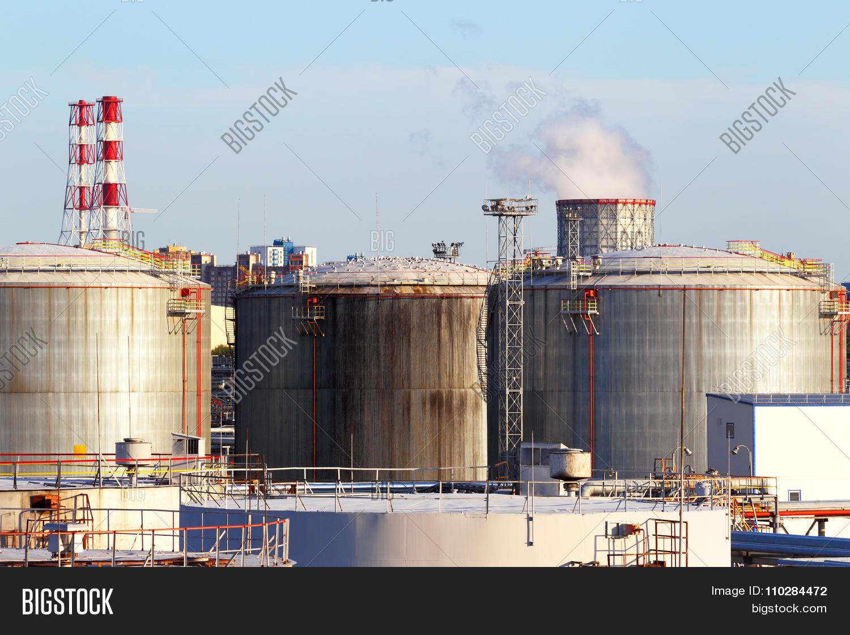 Oil business terminal.