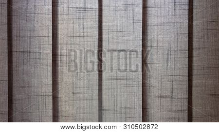 Window blinds track close up background stock photo