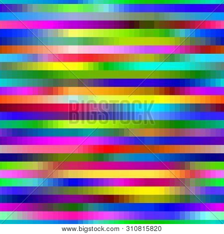 Glitch background glitchy noisy pixelated texture pattern tv broken computer screen with noise orabstract pixelation textured backdrop illustration seamless pattern background stock photo