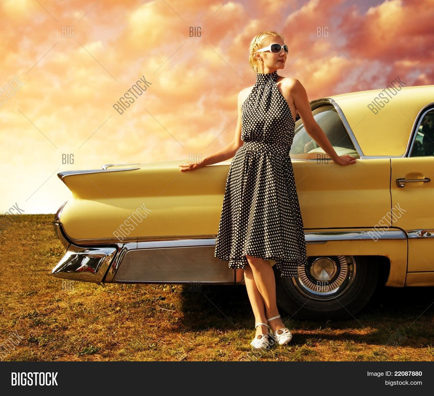 60s,70s,american,auto,automobile,automotive,background,beauty,car,charming,chrome,design,detail,dramatic,dress,drive,fashion,girl,horizontal,lady,lifestyle,long,model,pose,posing,power,race,retro,rim. antique,road,sedan,sexy,shine,sky,standing,style,stylish,sunglasses,tail,tire,transport,usa,vehicle,vintage,wheel,woman,yellow,young