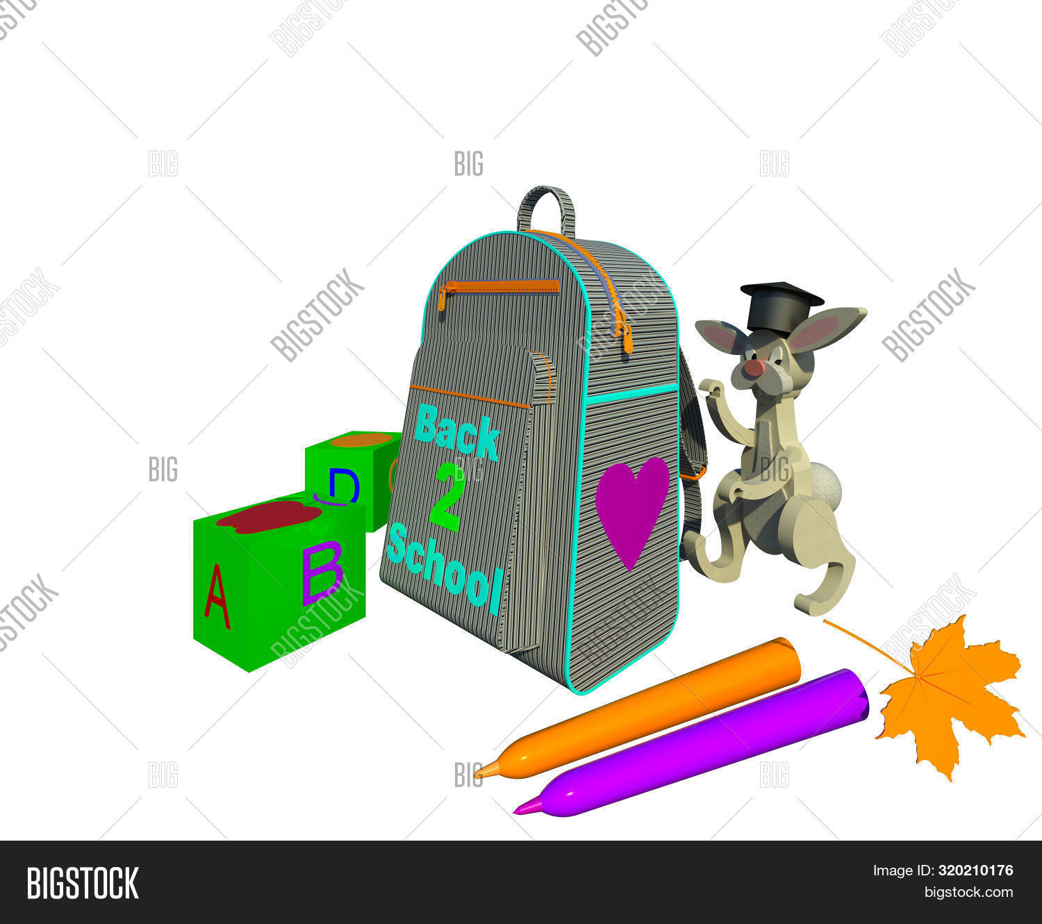 3d,autumn,background,backpack,bag,blocks,bunny,character,collection,color,colorful,computer,cubes,digitally,dimensional,generated,graphic,hat,illustration,image,isolated,leaf,letters,markers,rendering,scholar,school,season,seasonal,shadows,shapes,student,surfaces,symbols,text,textures,three,toy,white