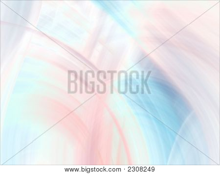 Bright blending pastels (computer generated fractal abstract background) stock photo