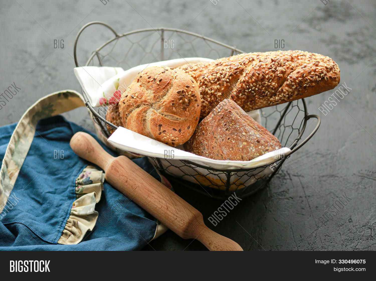 apron,background,baguette,baked,bakery,basket,black,board,bread,buckwheat,cook,cooking,cuisine,delicious,design,flour,food,for,fresh,grain,health,homemade,ingredient,kitchen,loaf,natural,notebook,nutrition,organic,pastry,pin,place,raw,rolling,rustic,sandwich,seeds,sieve,snack,space,spikelets,sunflower,text,texture