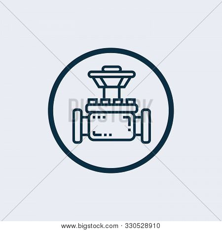 petrol pipe icon in two color design style. petrol pipe vector icon modern and trendy flat symbol for web site, mobile, app, logo, UI. petrol pipe colorful isolated icon on white background stock photo