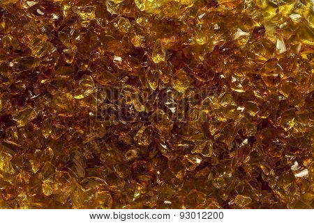 Close up of gold mica texture background stock photo