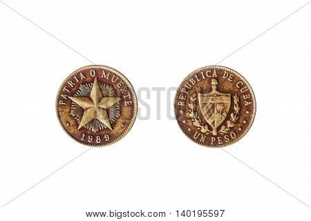 Cuban Peso Coin