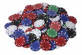 Pile of Poker Chips