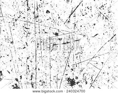 Grunge texture in black and white. Textured background.Vector template. Distress vector texture.Texture over any Object to Create Distressed Effect . stock photo