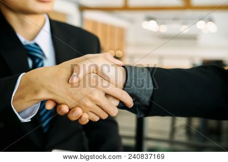 Doctor Holding Stethoscope to graph discussion and analysis data charts and graphs.Financial Analysis,Investment and financial budget concept,Analysis of financial costs and returns stock photo