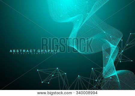 Nano technologies abstract background. Cyber technology concept. Artificial Intelligence, virtual reality, bionics, robotics, global network, microprocessor, nano robots. Vector illustration, banner stock photo