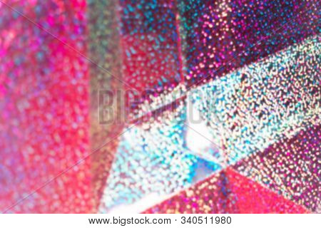Abstract holographic background Futuristic lights Cyberpunk background stock photo
