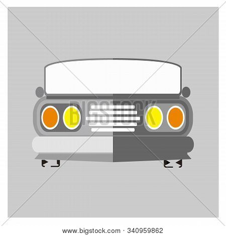 Car Logo, Old Car Icons, Classic Car Icons Vector, Objects Vintage Car Icons, Car Icon Images, Car Icon Images, Car Icon Graphics, Car Icon Art, Car Icon Images, Eps8, Eps10. stock photo