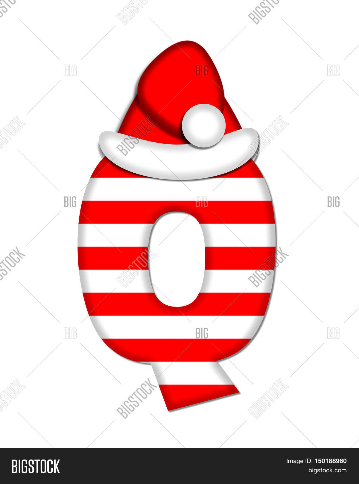 Q,alphabet,letter,graphic,illustration,education,striped,candy,cane,peppermint,cap,hat,santa,Clas,season,sweet,food,treats,sugar,holiday,festive,Christmas,desert,red,3D,2D,set,symbol,sign,decorated,decorative,school,learning,scrapbooking,scrap,booking,large,big,educational,spelling,style,text,white