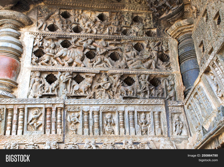 🔥 Ornate Perforated Window  Chennakeshava Temple, Belur, Karnataka