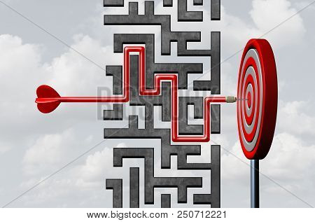 Business Goal Strategy And Flexible Strategic Planning As A Corporate Or Financial Planning To Overc
