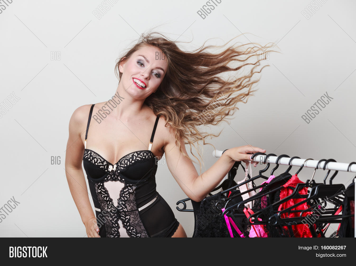 ef108dadd 🔥 Expressive Sexy Lady With Collection Of Lingerie.
