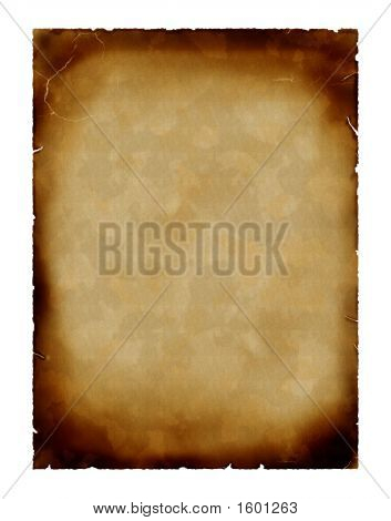 Background of old aged vintage paper parchment stock photo