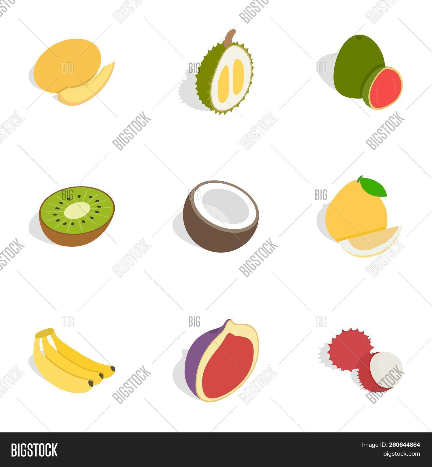 3d,appetizing,banana,berry,bright,cherry,citru,coconut,collection,delicious,dessert,diet,durian,element,exotic,food,fresh,fruit,grape,guava,harvest,health,healthy,icon,illustration,ingredient,isolated,isometric,kitchen,kiwi,leaf,market,natural,nutrition,pear,plum,rambutan,raw,ripe,set,snack,summer,sweet,tasty,tropical,vegan,vegetarian,vitamin,watermelon