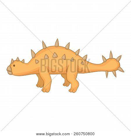 Styracosaurus icon. Cartoon illustration of styracosaurus icon for web stock photo