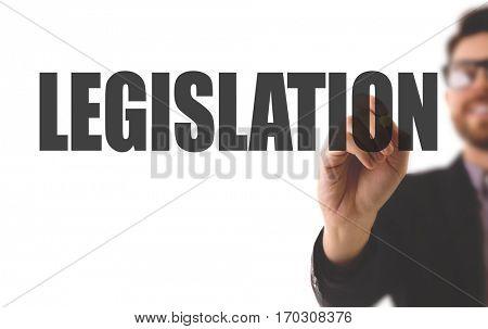 Legislation stock photo