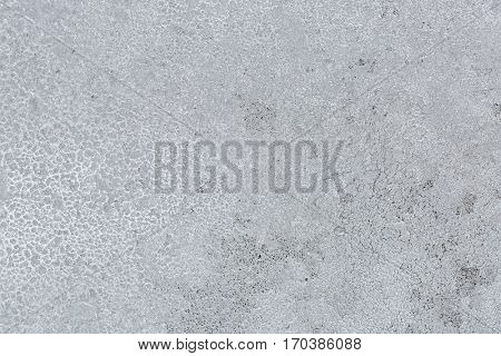 Abstract Texture background of frost rime ice pattern on glass window during winter in Europe stock photo