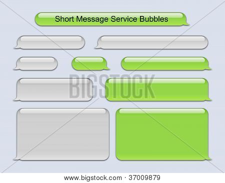 iphone green messages stock photo of message service bubbles royalty free 11903