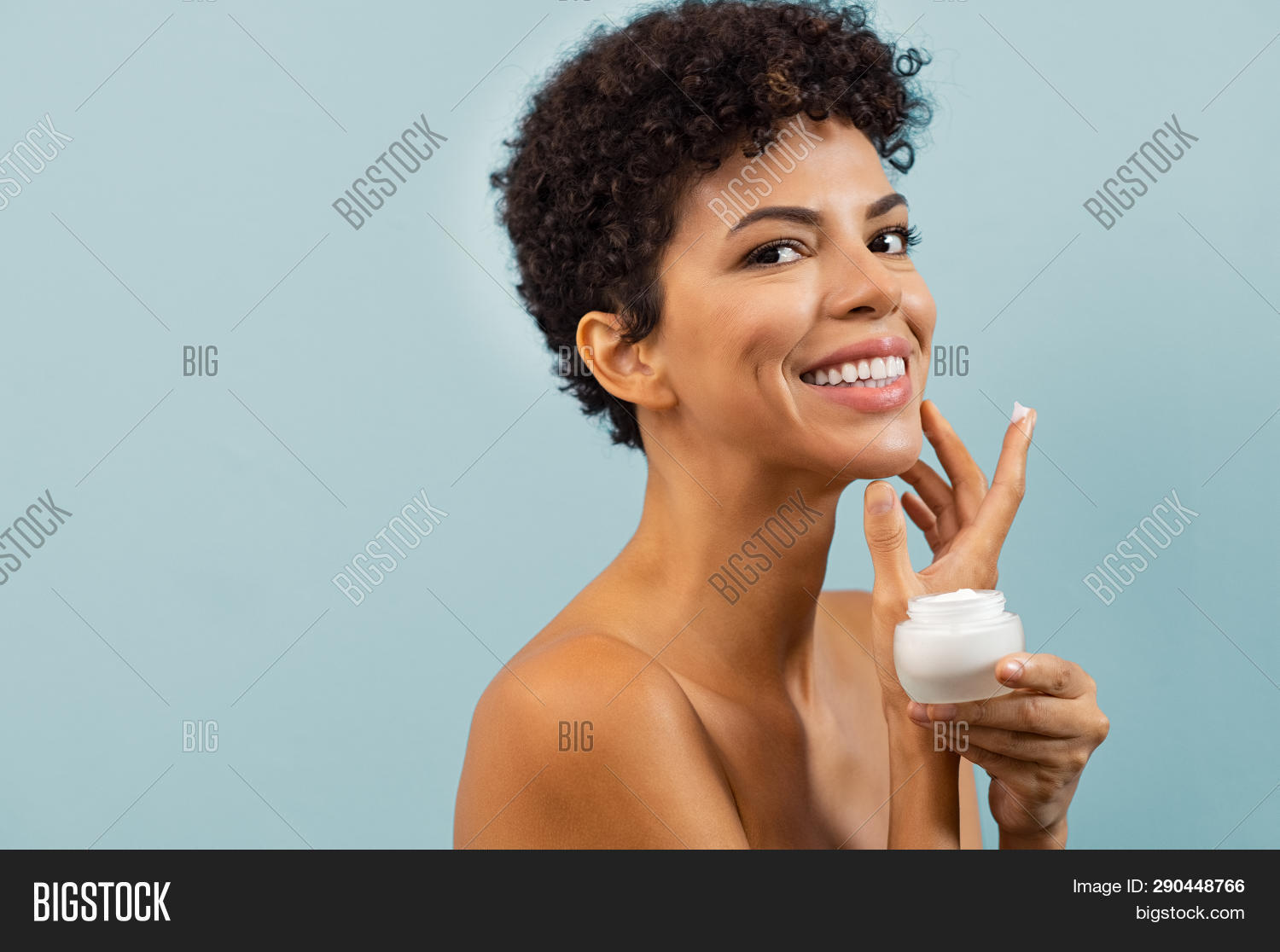 african,african american,african woman,afro,american,apply,applying,attractive,background,beautiful,beauty,beauty woman,black,brazilian,care,clean,collagen,complexion,copy space,cosmetic,cosmetology,cream,cream face,curly hair,dermatology,face,face moisturizer,facial,girl,hand,happy,healthy,holding,isolated,looking,looking at camera,lotion,moisture,moisturizer,moisturizing,naked,natural,natural beauty,people,purity,skin,skincare,smiling,treatment,woman