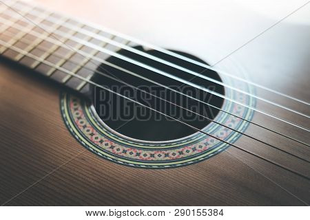 Classical Guitar And Strings, Professional Instrument