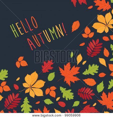 Hello Autumn! Background