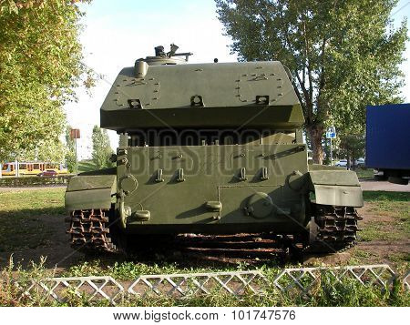 Infantry fighting vehicle, the IFV -- a wide class of armored fighting vehicles which basic purpose is transportation of staff to a place of performance of the set fighting task stock photo