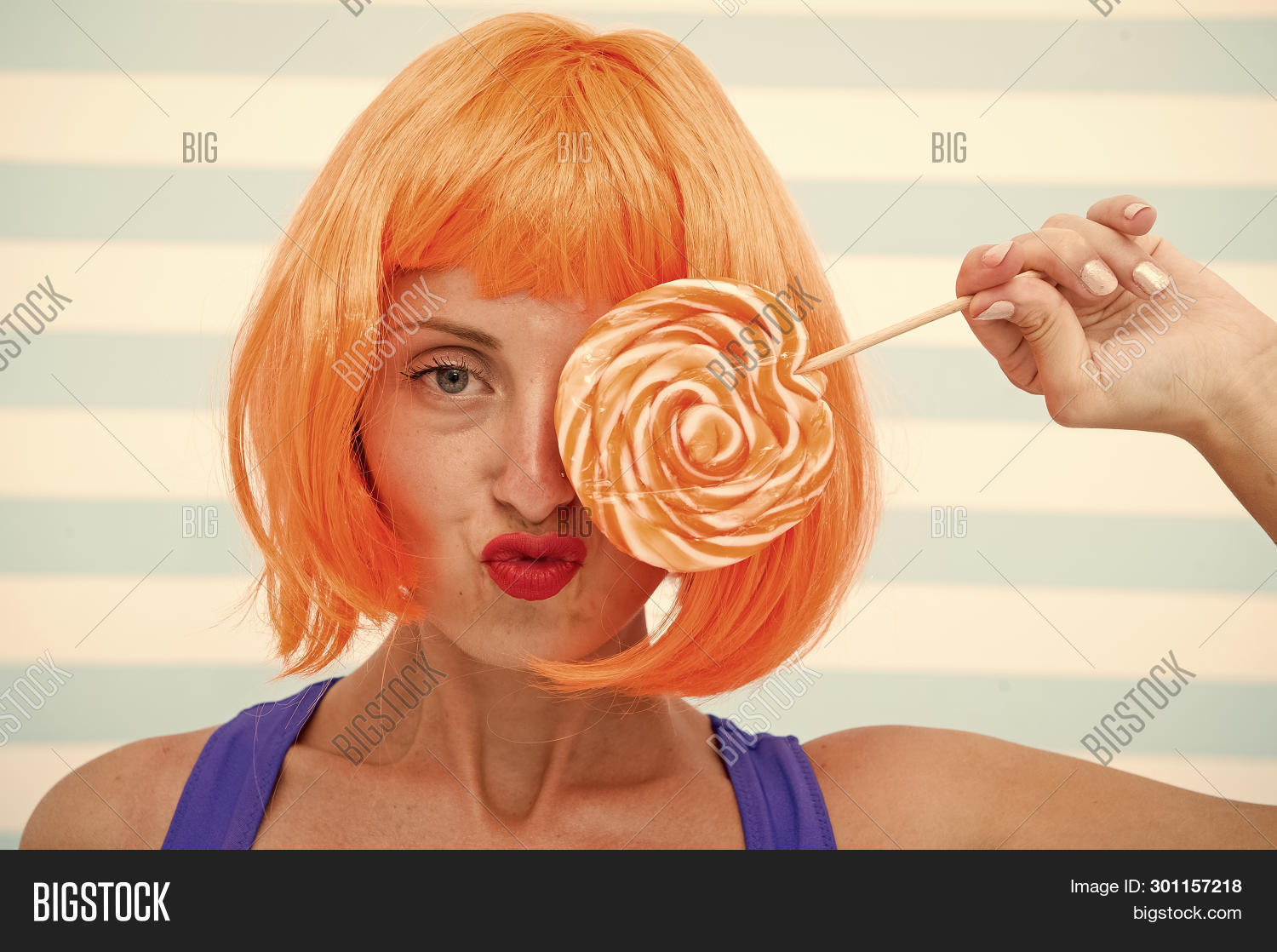 advert,beautiful,beauty,candy,carefree,cheerful,cool,crazy,diet,dieting,enjoyment,excitement,fashion,fashionable,female,flirting,food,funky,girl,hair,headwear,holding,lollipop,look,love,mouth,orange,passion,perfection,pin-up,playful,playing,shop,styles,sweet,toothy,woman