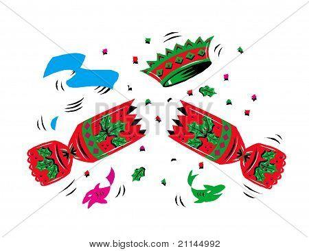 Raster version Illustration of a candy confetti icon stock photo