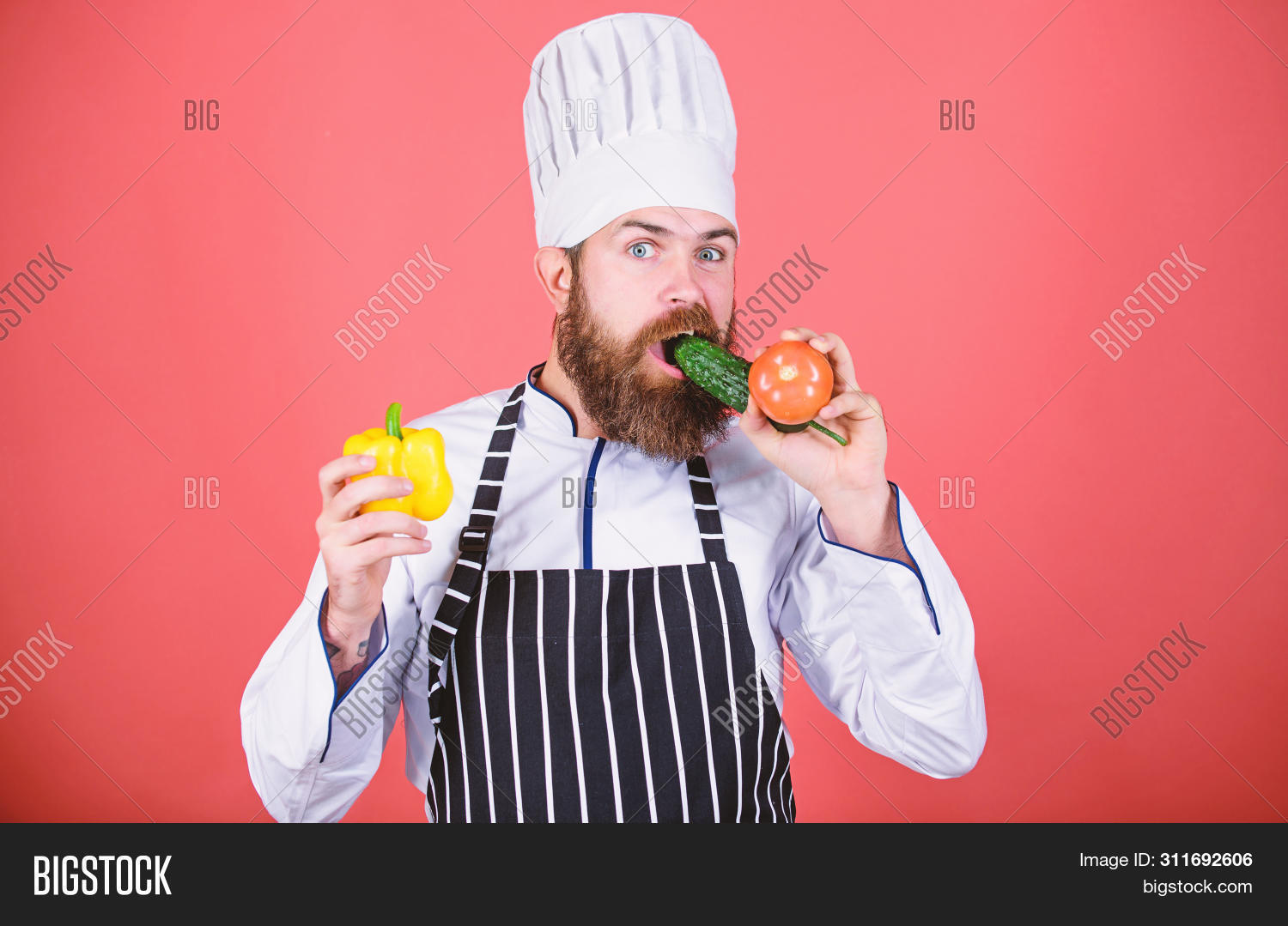 apron,background,buy,cafe,caucasian,chef,chief,choose,concept,cook,cooking,cuisine,culinary,diet,dieting,eat,food,fresh,gourmet,greenery,grocery,hat,health,healthy,hipster,hold,homegrown,lifestyle,man,nutrition,organic,pepper,professional,ration,recipe,red,restaurant,ripe,store,uniform,vegan,vegetable,vegetarian,vitamin