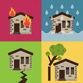 Home protection vector representation