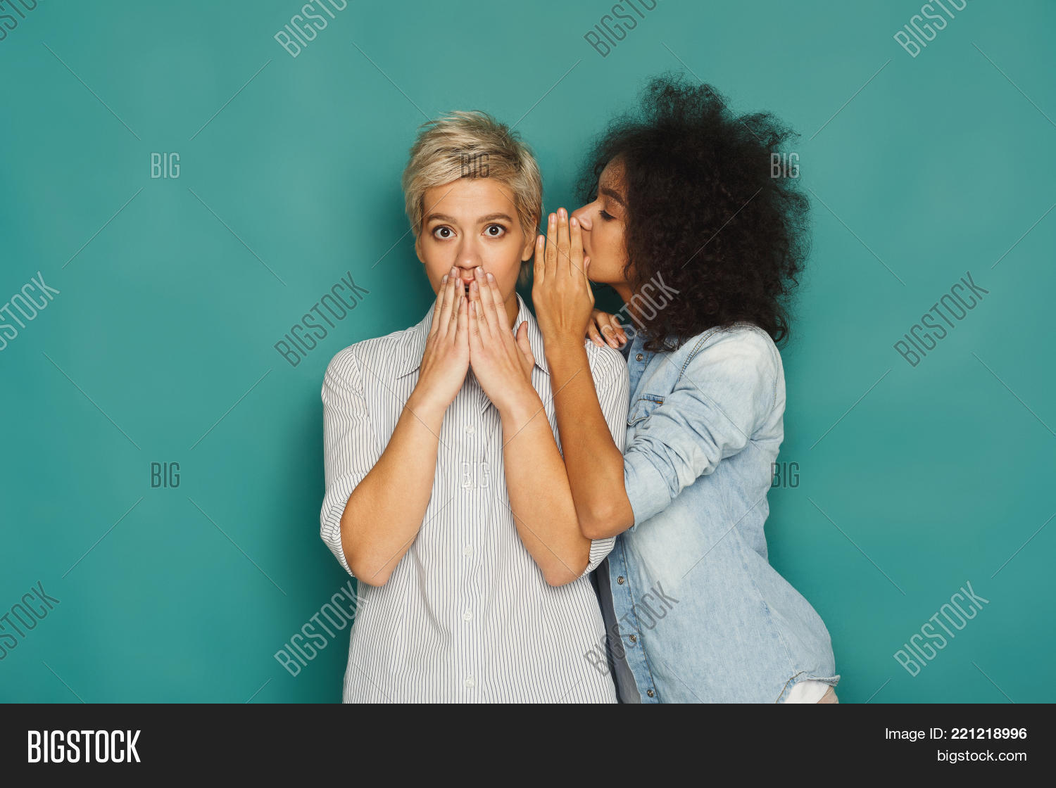 african-american,amazing,background,beautiful,best,black,blue,bonding,caucasian,chat,chatting,conversation,curious,cute,ear,excited,female,friend,friendship,fun,girl,girlfriend,gossip,gossiping,happy,lifestyle,listen,listening,model,multiethnic,news,people,secret,sharing,smile,speak,studio,surprise,talk,tattler,telling,turquoise,two,whispering,woman,women,wonder,young