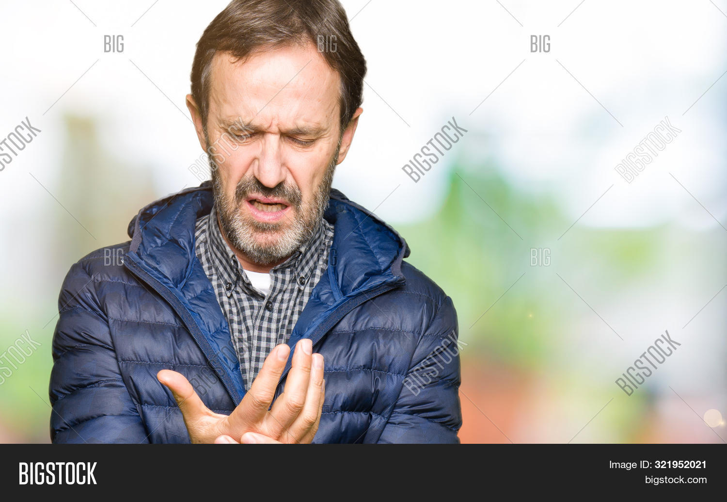 ache,adult,arm,arthritis,attractive,background,beard,body,bone,care,casual,coat,cool,cramp,elegant,fashion,finger,fingers,full body,grey hair,hand,handsome,health,hoary,hurt,illness,inflammation,injury,isolated,joint,man,massage,mature,medical,medicine,middle age,pain,painful,physical,portrait,problem,rheumatism,rheumatoid,senior,sore,suffer,therapy,winter,wrist