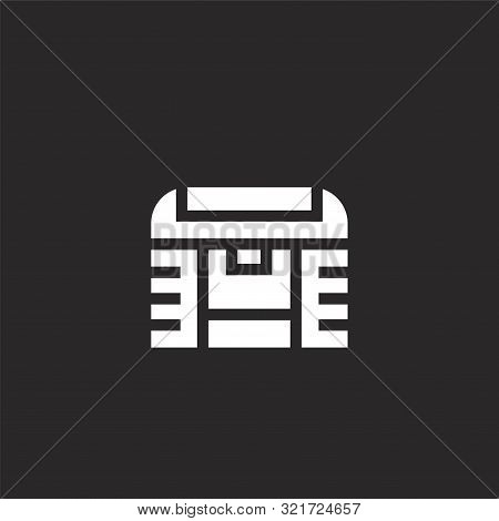 business and finance icon. business and finance icon vector flat illustration for graphic and web design isolated on black background from nerd collection. business and finance icon trendy and modern business and finance symbol for logo, web, app, UI. bus stock photo