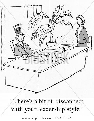 Disconnect with Leadership Style