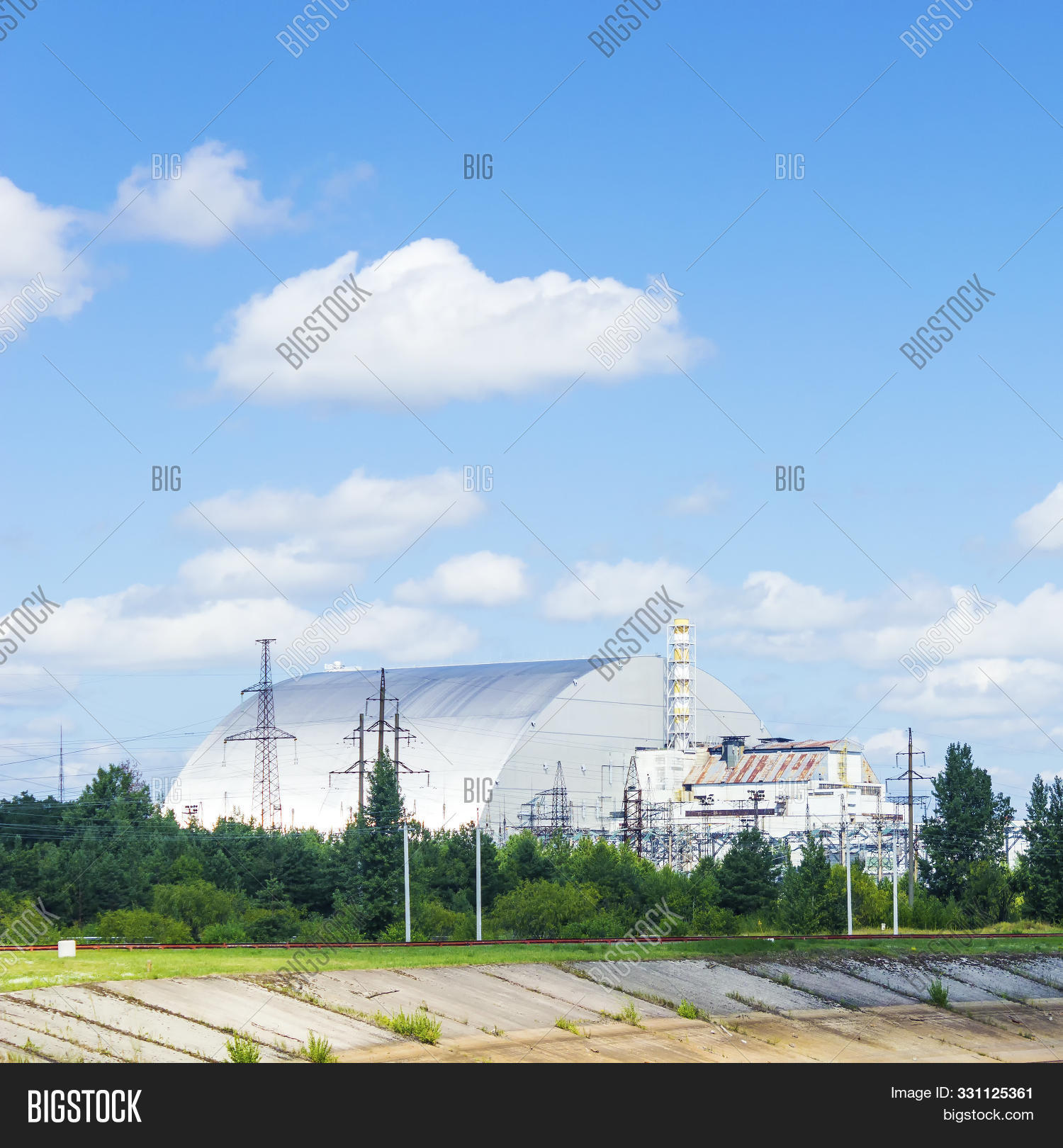 aerial,architecture,atomic,background,blue,building,chernobyl,city,confinement,construction,contamination,danger,design,disaster,ecology,electric,electricity,energy,environment,environmental,factory,hazard,industrial,industry,landscape,nature,nuclear,object,plant,pollution,power,radiation,radioactive,radioactivity,reactor,risk,sarcophagus,sky,station,symbol,technology,ukraine,view,zone