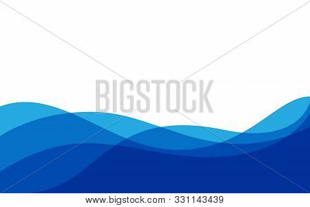 Abstract blue Background wave gradations, Modern Texture Background, color gradations Elegant Backgrounds Web Templates or Websites, Abstract Textured Gradients or Blue Backgrounds, Vector backgrounds, HD Backgrounds, background trends 2020 stock photo