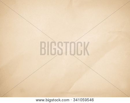 Brown paper texture or paper background. Seamless paper for design. Close-up paper texture for background. Abstract recycled paper. Empty paper texture background. Highly detailed paper background. Grunge paper for design. Old paper pattern surface past. stock photo