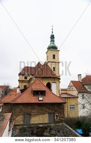 Prague is the capital and largest city in the Czech Republic, the 14th largest city in the European Union. Prague is a cultural and economic centre of central Europe complete with a rich history. stock photo