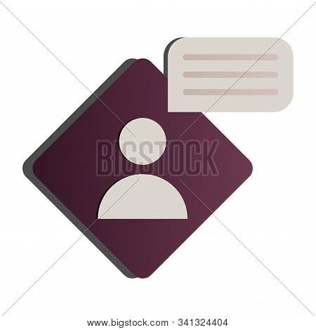 User account icon vector icon, web, face, head, human, stock photo