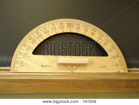 Chalkboard Compass